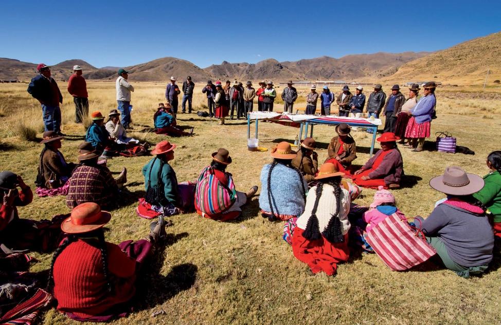 Caso 4: Enfrentar la pobreza y la vulnerabilidad del altiplano Peruano